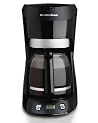 Hamilton Beach 12-Cup Coffee Maker with Digital Clock from Hamilton Beach