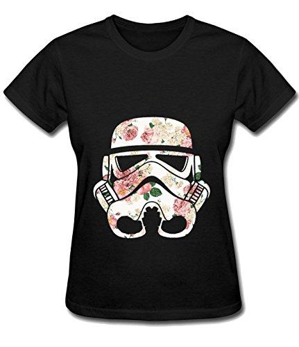 tsuyokiss-womens-flowered-troop-simple-unisex-shirt-black