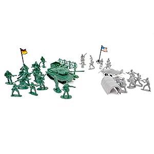 WDK PARTNER - A1200070 - Figurines - 38 soldats et militaires