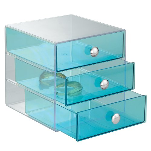 InterDesign Drawers, Aqua