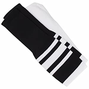 Adams USA FBOS-1 100-Precent Nylon Football Officials Socks (Pack of 12) by Adams Manufacturing