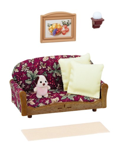 sylvanian families set	of sofas and