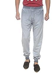 Pepe Jeans Mens Grey Slim Fit Trousers (Medium)