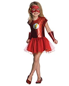 Justice League Child's Flash Tutu Dress