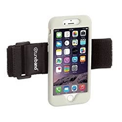 TuneBand for iPhone 6, Premium Sports Armband with Two Straps and Two Screen Protectors (GLOW)