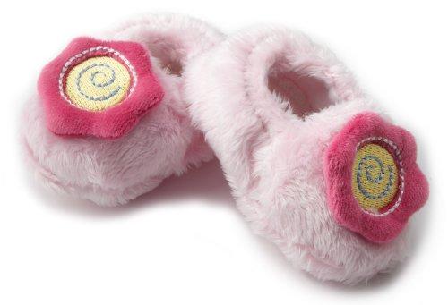 Gerber Baby-Girls Newborn Velboa Soft Bootie, Pink, 0-6 Months