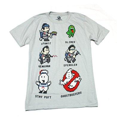8bitゴーストバスターズ Tシャツ Mサイズ [並行輸入品]