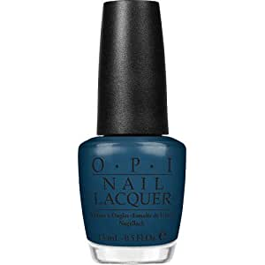 OPI Nail Lacquer, Ski Teal We Drop, 0.5-Fluid Ounce