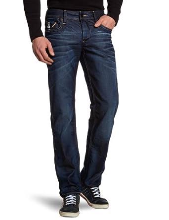 G-Star Raw Men's Attac Low Straight Leg Jean, Dark Aged, 28x30