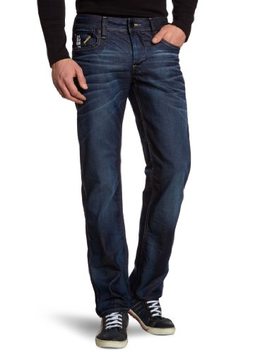 G-Star Raw - Mens Attacc Low Straight Leg Jeans in Dark Aged, Size: 30W x 30L, Color: Dark Aged