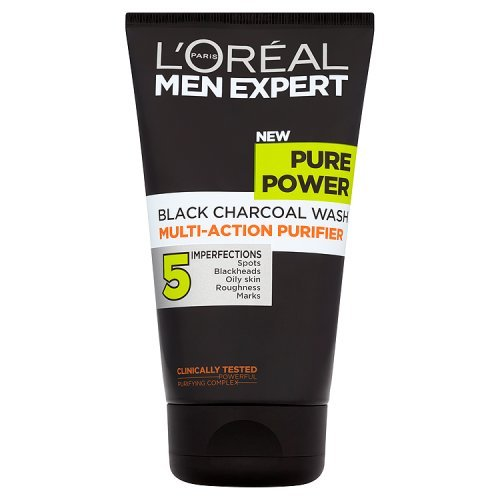 L'Oreal Men Expert - Detergente viso Pure Power, 150 ml
