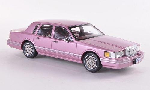 lincoln-town-car-met-hell-flieder-limitierte-auflage-300-stuck-1990-modellauto-fertigmodell-neo-limi