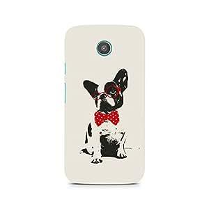 Ebby Bowtie Pup Premium Printed Case For Moto G2