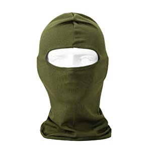 Buy Candy Color Ultra Thin Ski Face Mask - Great Under A Bike Football Helmet -Balaclava by NewNow