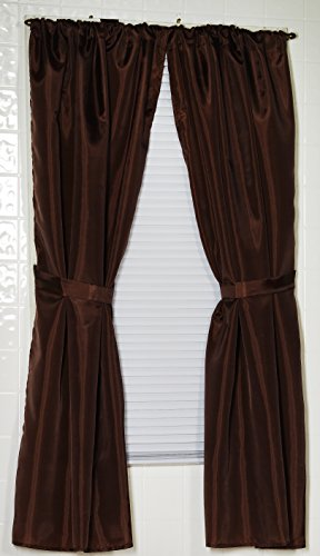 ... Window Curtain, 36-Inch by 54-Inch, Brown, 36 inches by 54 inches
