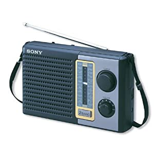 Sony ICF-F10s SW/MW 2 Band Portable Radio