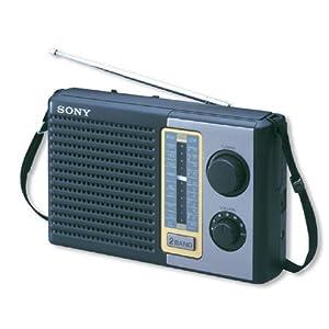 Sony ICF-F10s SW/MW 2 Band Portable Radio