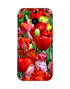 Mobifry Back case cover for HTC One M8 Mobile ( Printed design)