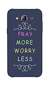 Back Cover for Samsung Galaxy ON5 ABSTRACT BLUE