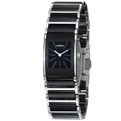 Rado Women's R20786152 Integral Black Dial Watch from Rado