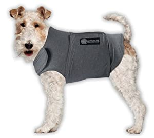American Kennel Club Calm Anti-Anxiety and Stress Relief Coat for Dogs, Medium