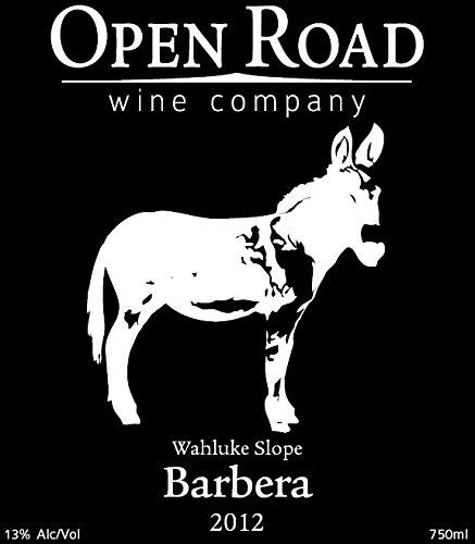 2012 Open Road Wahluke Slope Barbera 750 Ml