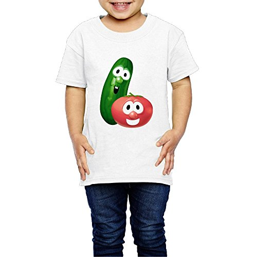 VeggieTales Lord Of The Beans Lisa Vischer Tim Hodge Toddler Tee Short Sleeve Shirts