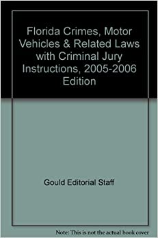 florida crimes motor vehicles related laws with