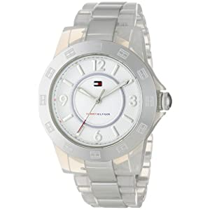 Tommy Hilfiger Women's 1781078 Sport Transparent Bracelet Watch