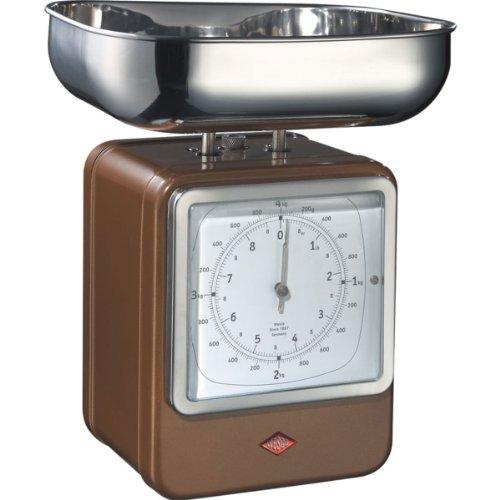 Wesco 322 204-22 Balance de cuisine (Chocolat)