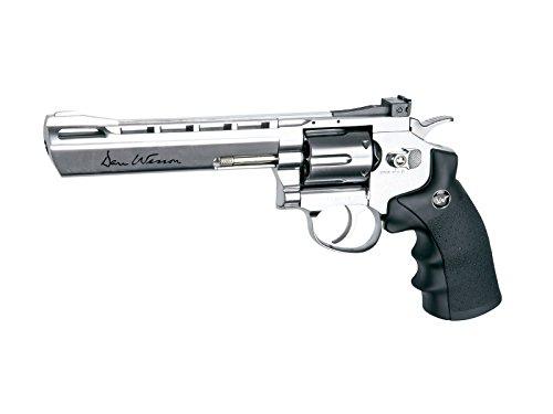 Dan Wesson 6″ CO2 BB Revolver, Silver air pistol