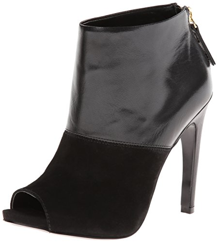 Nine West Women'S Meoww Boot,Black/Black,9.5 M Us