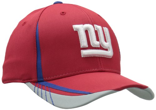 NFL New York Giants Sideline Flex-Fit Draft Hat, Red, Large/X-Large at Amazon.com