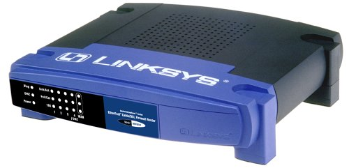 Linksys BEFSX41 Instant Broadband EtherFast Kabel/DSL Firewall-Router mit 4-Port Switch/ VPN-Endpunkt