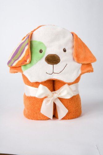 "Orange Dog Towel 28"" by Douglas Cuddle Toys - 1"