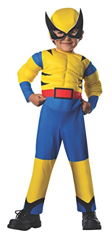 Rubie's Costume Baby Boy's Marvel Classic Toddler Costume Lil Wolverine