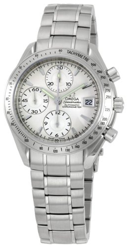 Omega Men's 3211.30.00 Speedmaster Date Automatic Chronometer Chronograph Watch