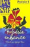 echange, troc Collectif - Poésie 1/Vagabondages, N° 44 : Poésie enfance