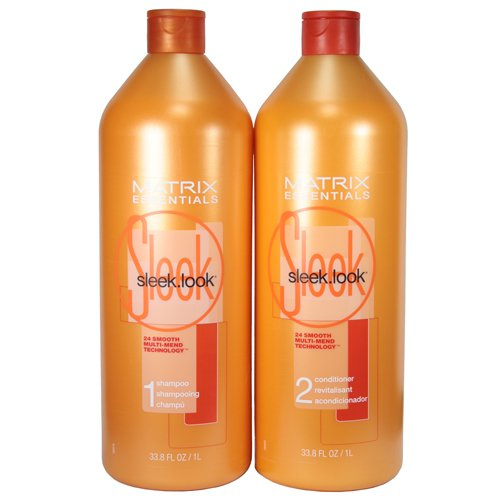 Matrix Sleek Look Shampoo and Conditioner Duo (33.8 oz)