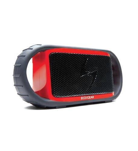 Ecoxbt Red Waterproof Speaker W/ Bt