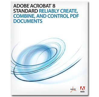 Adobe Acrobat Standard 8.0 [Old Version]