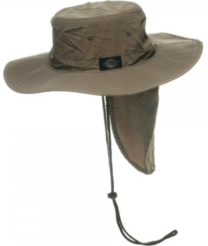 Dickies Mens Olive Green Military Jungle Desert Boonie Beach Fishing Hunting Sun Garden Hat Cap S/M