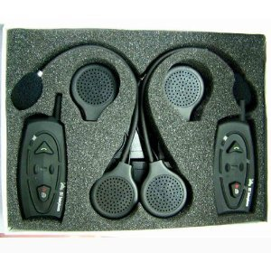 Shark SHKMBT88I Motorcycle snowmobile Bluetooth Multi Interphone headsets Intercom pair Black Friday & Cyber Monday 2014