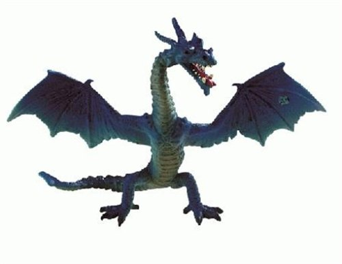 Bullyland Fantasy: Flying Turquoise Dragon - 1