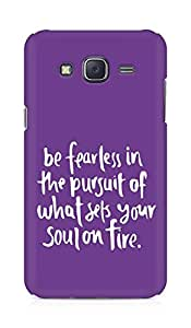 AMEZ be fearless i the pursuit Back Cover For Samsung Galaxy J5