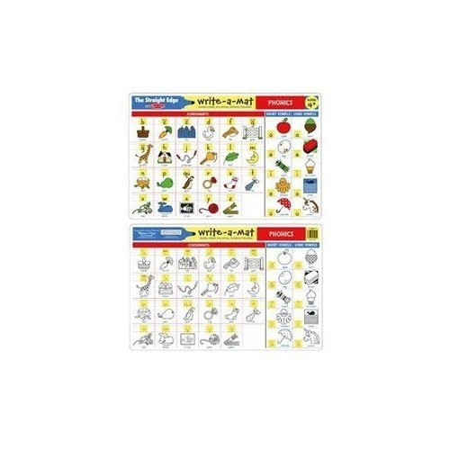 Melissa & Doug Phonics Write-a-Mat - 1