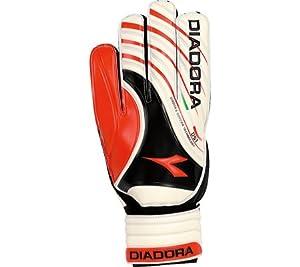 Diadora Kobra GK Glove (White/Red/Black, 11)