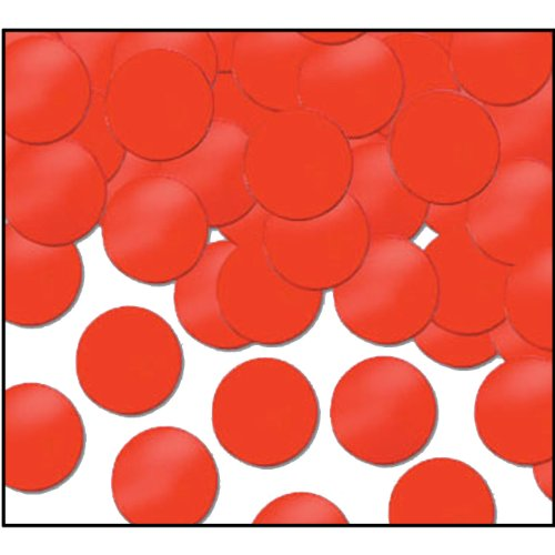 Beistle Fanci-Fetti Dots (1 Oz) - Red