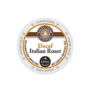 Barista Prima Coffee Italian Roast Decaf, K-Cup for Keurig Brewers from Barista Prima