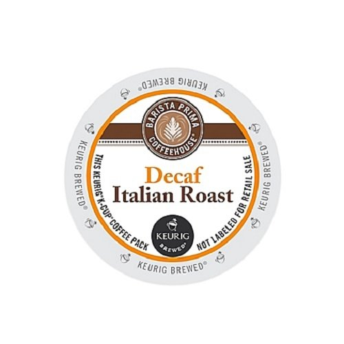 Barista Prima Decaf Coffee, Italian Roast, Rich. Dark. European., 24- Count K-Cup (Italian Roast K Cups Coffee compare prices)